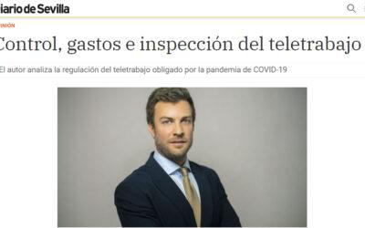 Diario de Sevilla – Control, gastos e inspección del teletrabajo